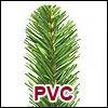 Tannen aus Luvi (PVC)
