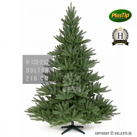 künstlicher edler Spritzguss Weihnachtsbaum Nordmanntanne Bolton ca. 210cm
