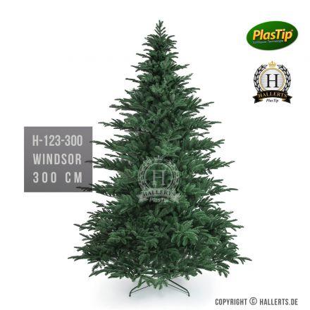 künstlicher Spritzguss Weihnachtsbaum Fichte Windsor ca. 300cm