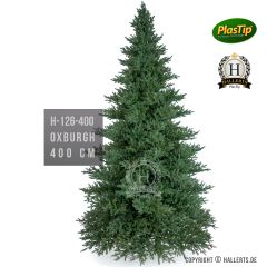 künstlicher Spritzguss Weihnachtsbaum Nobilis Edeltanne Oxburgh ca. 400cm