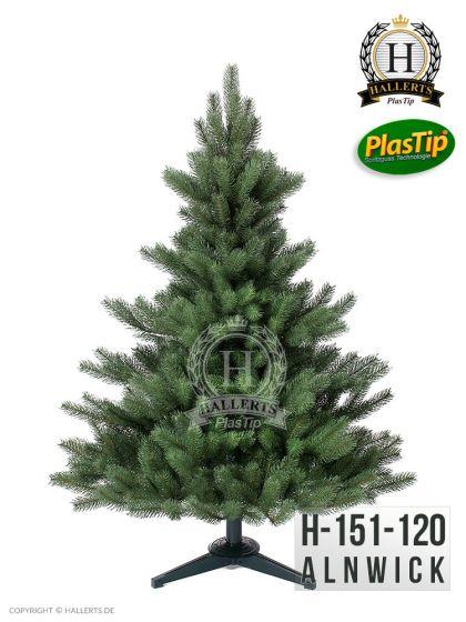 künstlicher Spritzguss Weihnachtsbaum PREMIUM  Nordmanntanne Alnwick ca. 120cm